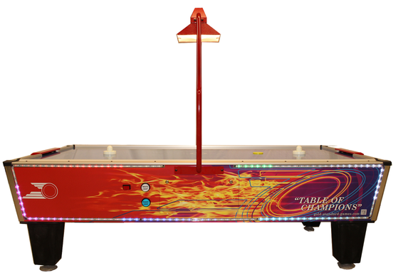 Gold Flare Home Plus by Gold Standard Games, Air Hockey, Shelti - The Luxury Man Cave
