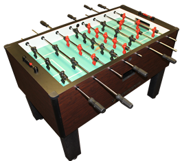 GSG Home Pro Foosball Mahogany by Gold Standard Games, Foosball, Shelti - The Luxury Man Cave