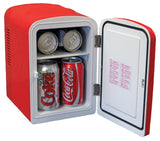 Coca Cola Personal Fridge by Koolatron, Beverage Refrigerator, Koolatron - The Luxury Man Cave