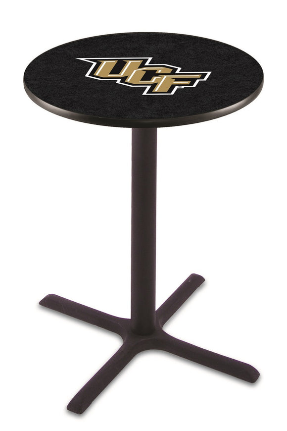 Central Florida L211 - Black Wrinkle Pub Table by Holland Bar Stool Co.