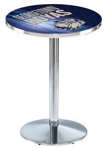 Georgetown L214 - Chrome Pub Table by Holland Bar Stool Co.