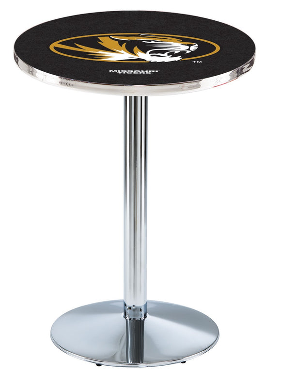 Missouri L214 - Chrome Pub Table by Holland Bar Stool Co.