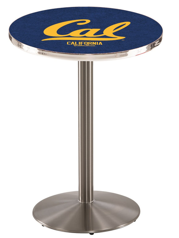 California L214 - Stainless Steel Pub Table by Holland Bar Stool Co.
