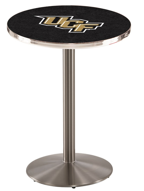 Central Florida L214 - Stainless Steel Pub Table by Holland Bar Stool Co.
