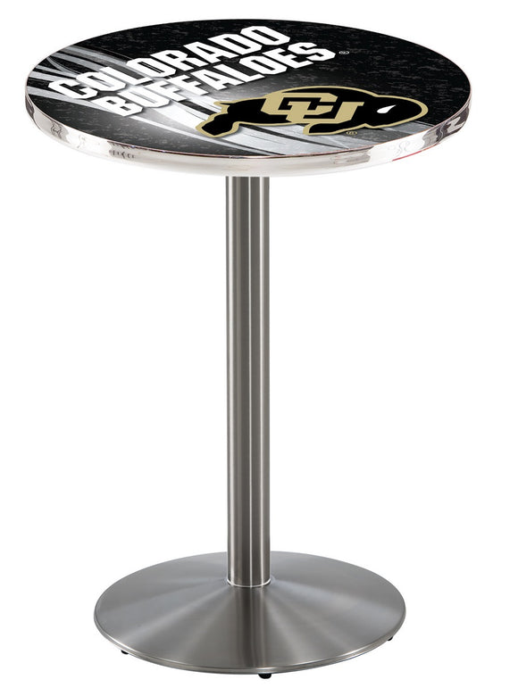 Colorado L214 - Stainless Steel Pub Table by Holland Bar Stool Co.