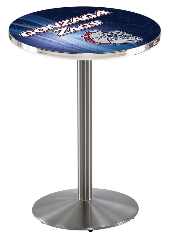 Gonzaga L214 - Stainless Steel Pub Table by Holland Bar Stool Co.