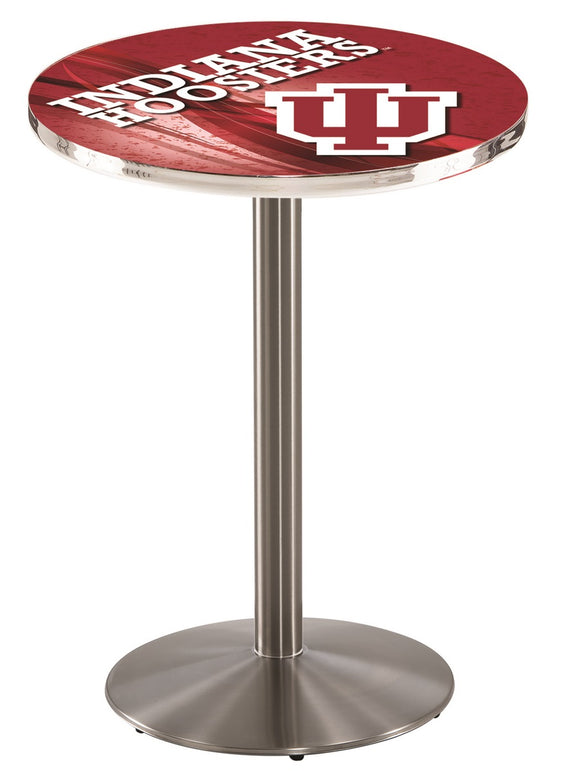 Indiana L214 - Stainless Steel Pub Table by Holland Bar Stool Co.