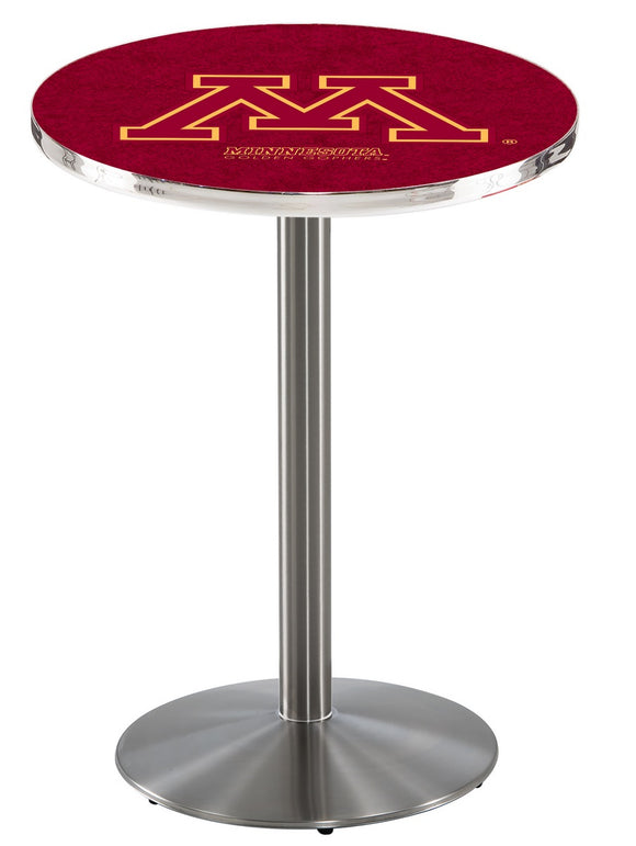 Minnesota L214 - Stainless Steel Pub Table by Holland Bar Stool Co.