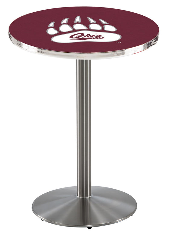 Montana L214 - Stainless Steel Pub Table by Holland Bar Stool Co.