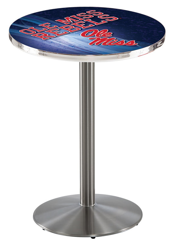 Mississippi L214 - Stainless Steel Pub Table by Holland Bar Stool Co.