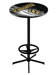 "Central Florida L216 - 42"" Black Pub Table by Holland Bar Stool Co."