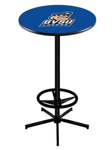 "Grand Valley State L216 - 42"" Black Pub Table by Holland Bar Stool Co."