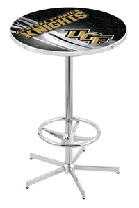 "Central Florida L216 - 42"" Chrome Pub Table by Holland Bar Stool Co."