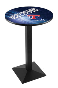 Louisiana Tech L217 - Black Wrinkle Pub Table by Holland Bar Stool Co.