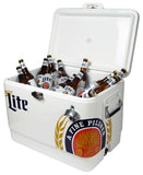 Miller Lite Stainless Steel Ice Chest 54qts with bottle opener by Koolatron, Ice Chest, Koolatron - The Luxury Man Cave