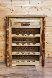 Glacier Country Collection Wine Cabinet by Montana Woodworks, Wine Rack, Montana Woodworks - The Luxury Man Cave