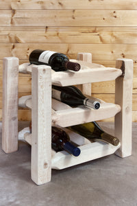 Homestead Collection Countertop Wine Rack, Ready to Finish by Montana Woodworks, Wine Rack, Montana Woodworks - The Luxury Man Cave