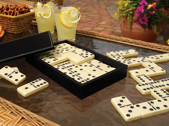 Classic Domino Set by  Mainstreet Classics, Board Game, GLD Products - The Luxury Man Cave