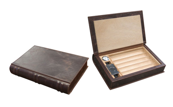 The Novelist by Prestige Import Group, cigar humidor, Prestige Import Group - The Luxury Man Cave
