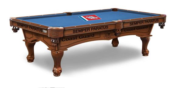 U.S. Coast Guard 8' Pool Table by Holland Bar Stool Company, Pool Table, Holland Bar Stool Company - The Luxury Man Cave