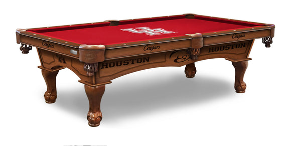 University of Houston 8' Pool Table by Holland Bar Stool Co., Pool Table, Holland Bar Stool Company - The Luxury Man Cave