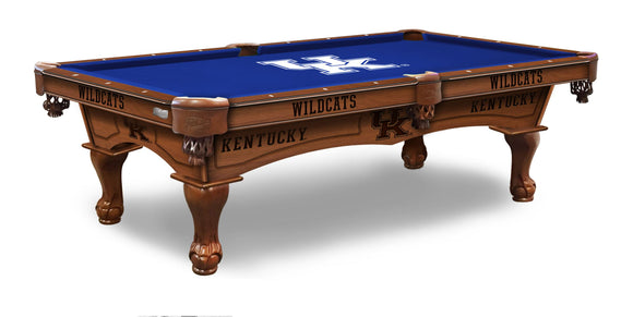 University of Kentucky 8' Pool Table by Holland Bar Stool Co., Pool Table, Holland Bar Stool Company - The Luxury Man Cave