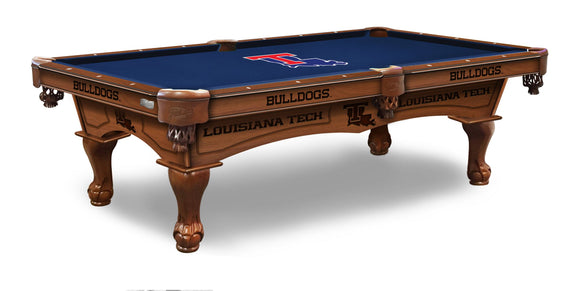 Louisiana Tech 8' Pool Table by Holland Bar Stool Co., Pool Table, Holland Bar Stool Company - The Luxury Man Cave