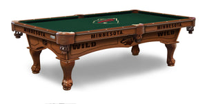 Minnesota Wild 8' Pool Table by Holland Bar Stool Co., Pool Table, Holland Bar Stool Company - The Luxury Man Cave
