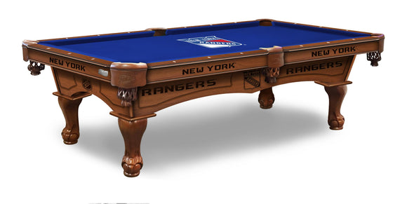 New York Rangers 8' Pool Table by Holland Bar Stool Co., Pool Table, Holland Bar Stool Company - The Luxury Man Cave