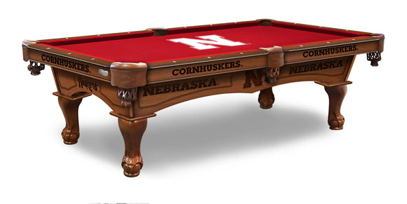 Nebraska 8' Pool Table by Holland Bar Stool Co., Pool Table, Holland Bar Stool Company - The Luxury Man Cave