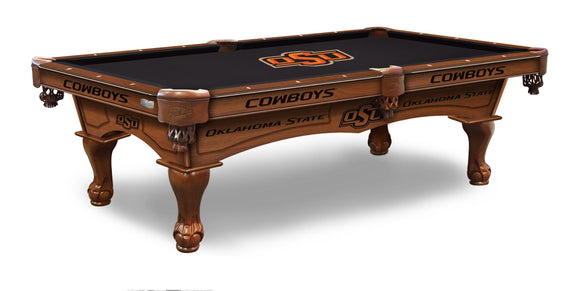 Oklahoma State 8' Pool Table by Holland Bar Stool Co., Pool Table, Holland Bar Stool Company - The Luxury Man Cave