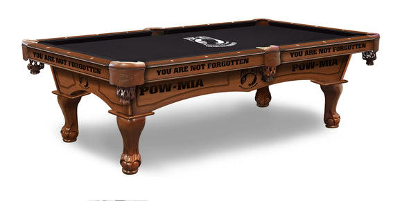 POW/MIA 8' Pool Table by Holland Bar Stool Company, Pool Table, Holland Bar Stool Company - The Luxury Man Cave