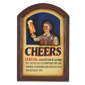 PUB SIGN-CHEERS, Wall Signs, RAM Gameroom - The Luxury Man Cave