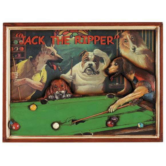 PUB SIGN-JACK THE RIPPER, Wall Signs, RAM Gameroom - The Luxury Man Cave