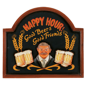 PUB SIGN HAPPY HOUR, Wall Signs, RAM Gameroom - The Luxury Man Cave