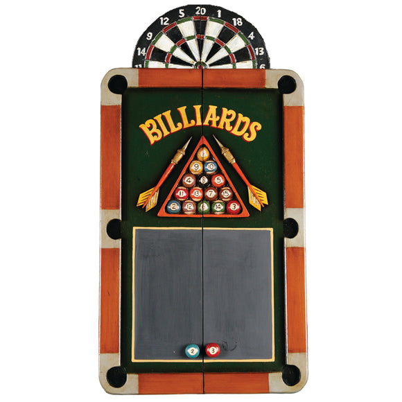 BILLIARDS DARTBOARD CABINET, Dart Board Cabinet, RAM Gameroom - The Luxury Man Cave