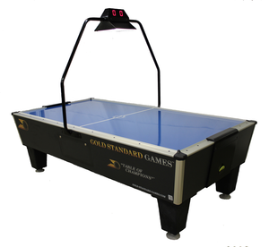 Tournament Pro Plus w/ Compact Overhead and Electronic Scoring Unit by Gold Standard Games, Air Hockey, Shelti - The Luxury Man Cave
