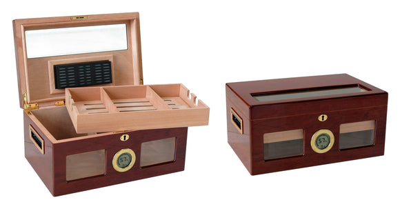 THE Valencia Digital by Prestige Import Group, cigar humidor, Prestige Import Group - The Luxury Man Cave