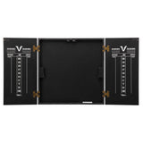 Viper Hideaway Dartboard Cabinet w/ Reversible Traditional and Baseball Dartboard