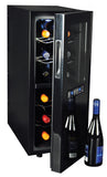 12-bottle Dual Zone Wine Cellar, Wine Cooler, Koolatron - The Luxury Man Cave