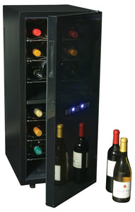 24-bottle Dual Zone Wine Cellar, Wine Cooler, Koolatron - The Luxury Man Cave