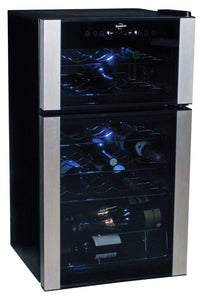 29-bottle Dual Zone Wine Cellar, Wine Cooler, Koolatron - The Luxury Man Cave