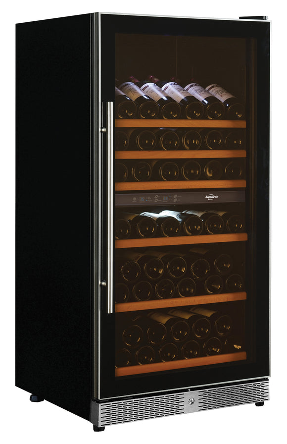 68 Bottle Dual Zone Built In & Free-Standing Wine Cellar by Koolatron, Wine Cooler, Koolatron - The Luxury Man Cave
