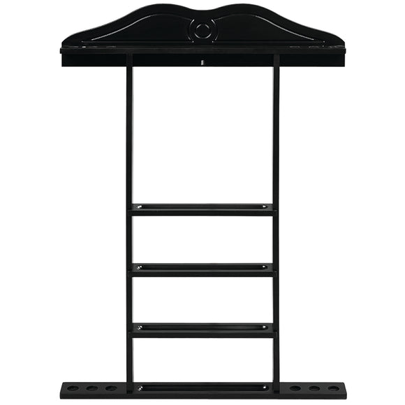WALL CUE RACK - BLACK by RAM Gameroom, Cue Holder, RAM Gameroom - The Luxury Man Cave
