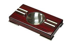 Contemporary Glossy Ashtray by Prestige Import Group