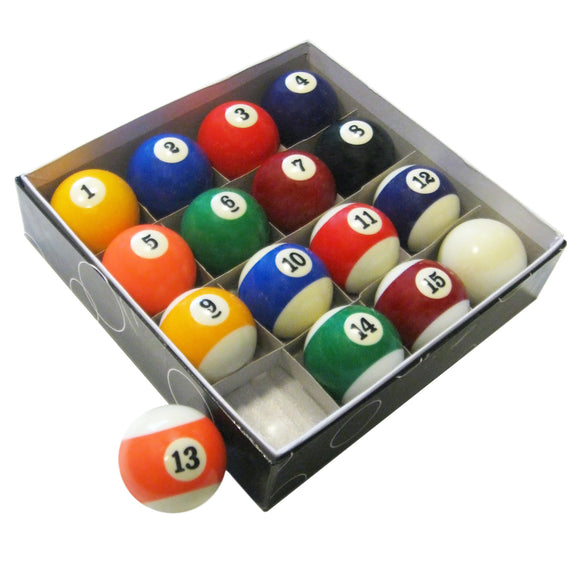 Pool Table Regulation Billiard Ball Set by Carmelli, billiard acc., Carmelli - The Luxury Man Cave