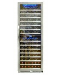 155-Bottle Dual-Zone Connoisseur Series Wine Cooler (Right Hinge) by Vinotemp, Wine Cooler, Vinotemp - The Luxury Man Cave