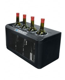 Il Romanzo 4-Bottle Open Wine Cooler by Vinotemp, Wine Cooler, Vinotemp - The Luxury Man Cave