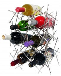 Epicureanist Abstract Wine Rack by Vinotemp, Wine Rack, Vinotemp - The Luxury Man Cave