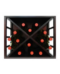 Epicureanist Stackable Diamond Wine Rack by Vinotemp, Wine Rack, Vinotemp - The Luxury Man Cave